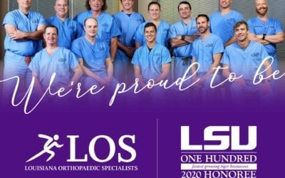 We are proud to be included on the 2020 LSU 100 list!